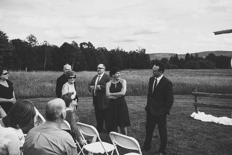 trout creek wedding ceremony