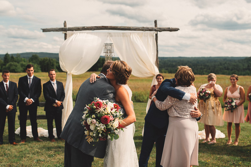 gibson ranch wedding ceremony